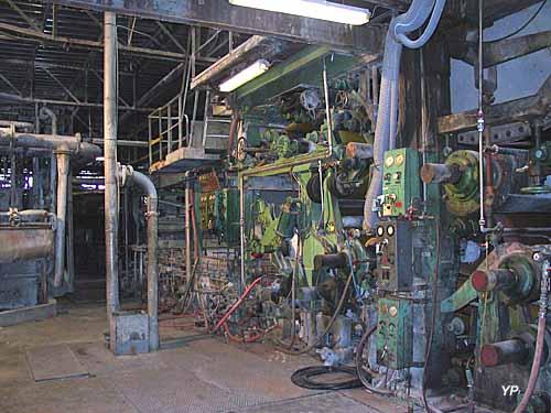 Musée Aristide Bergès - Machine à papier
