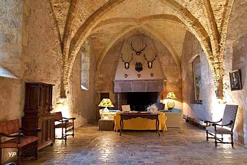 Château de Mélac - salle des gardes