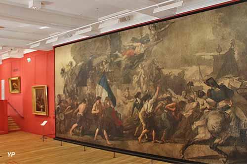 MUDO - L'Enrôlement des volontaires de 1792 (Thomas Couture)