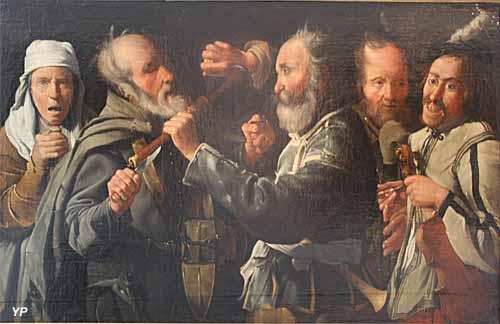 Musée des Beaux-Arts - La Rixe des musiciens (Atelier de Georges de La Tour, vers 1630)