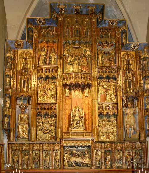 Église Saint-Jacques - retable de Notre-Dame de l'Espérance
