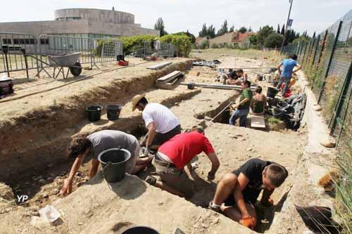 Musée Archéologique de Ruscino - fouilles