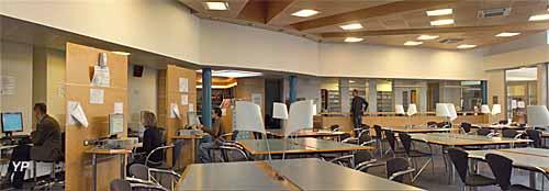 Archives départementales de la Corrèze - salle de lecture