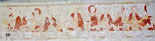 Chapelle de Sainte-Marie aux Anglais - la Cène (1240)