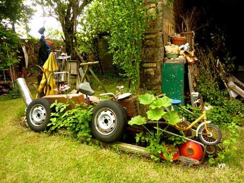 Atelier-jardin Artodéchethèque de Mino D.C - le véhicule du patrimoine