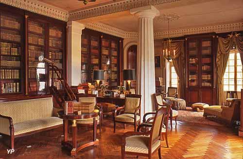 Château de Parentignat - bibliothèque
