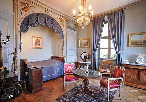 Musée de la Folie Marco - Chambre bleue