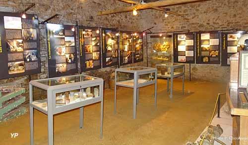 Maison de l'Or en Limousin - espace d'exposition