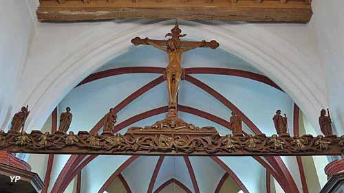 Église fortifiée Saint-Martin - arbre de Jessé