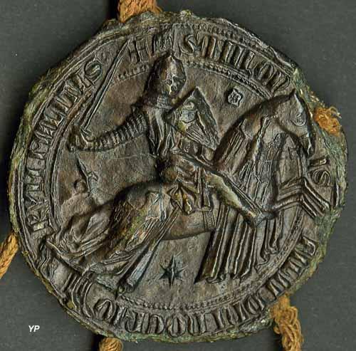Sceau de Miles VII de Noyers, seigneur de Noyers (1278)