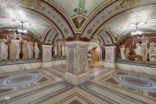 Crypte des mosaïques de l'Antiquaille