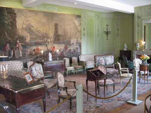 Domaine du château de Laàs - salon des Dames