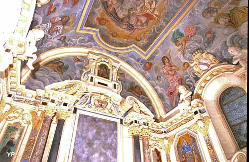 Chapitre de Carrouges - chapelle collatérale de la collégiale