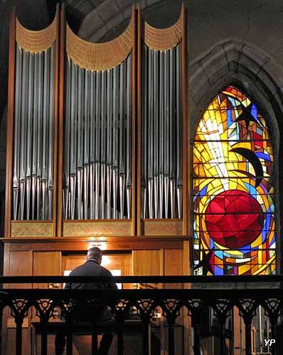 Église Saint-Germain - visite de l'orgue