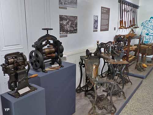 Musée de la Cordonnerie - espace mécanisation