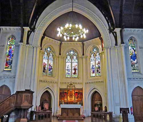Église luthérienne Saint-Jean - choeur