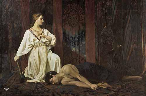 Jaël et Sisera (François Grellet, dit frère Athanase-martyr, 1874)