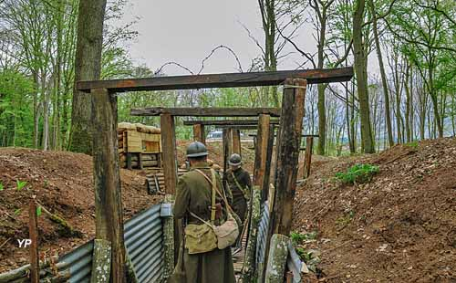 Ligne Maginot - Casemates du Huberbusch (164e RIF)
