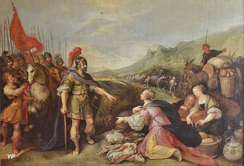 La rencontre de David et Abigaïl (Francken le Jeune)