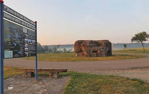 Hoste Porte d'entrée de la Ligne Maginot Aquatique