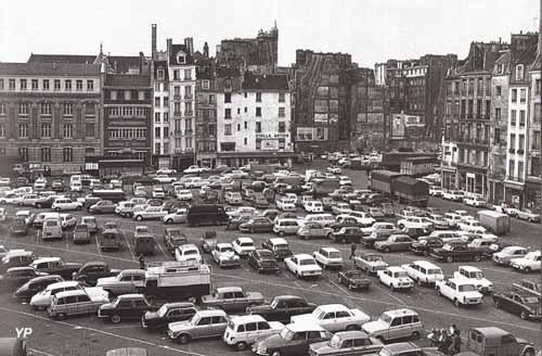 Plateau Beaubourg en 1970