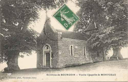 Vieille chapelle de Montceau