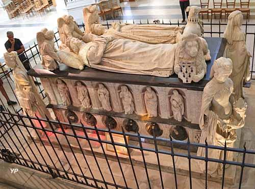 Tombeau de François II, duc de Bretagne et de sa femme Marguerite de Foix