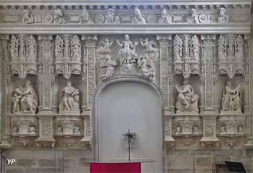 Abbatiale de Sainte-Croix - retable Renaissance