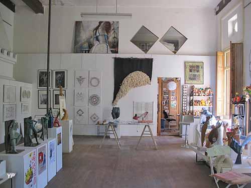 Atelier du sculpteur Pierre Vallauri