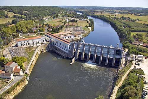 Barrage de Tuilières