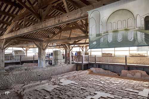 Cassinomagus - Parc Archéologique - grandes piscines