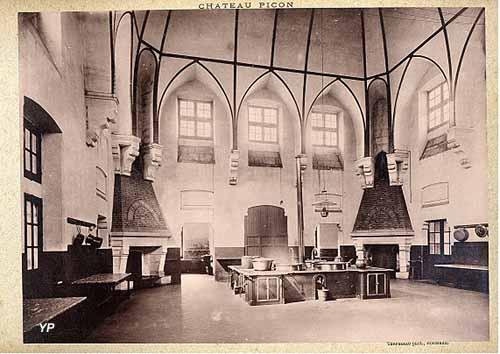 Centre hospitalier Charles Perrens - cuisine du Château-Picon