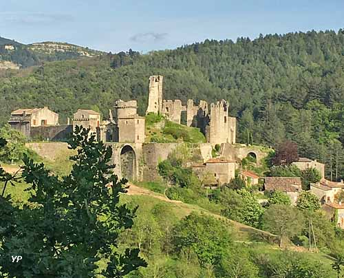 Château-citadelle de l'Ardèche