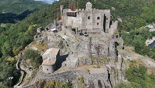 Château fort de Ventadour (château de Meyras)