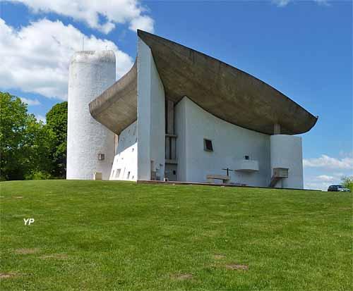 Colline Notre-Dame du Haut - chapelle Le Corbusier