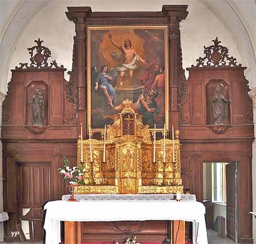 Maître autel et son retable