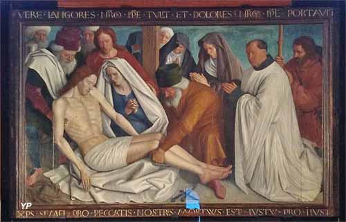 Église Saint Martin - Pietà de Nouans (Jean Fouquet, vers 1460)
