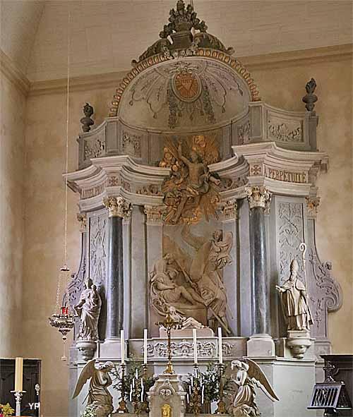 Église Saint-Patern - maître-autel