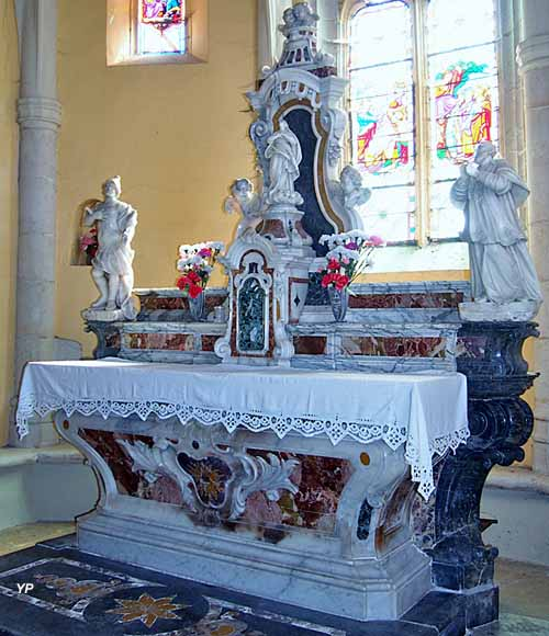 Autel baroque