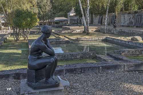 Le jardin des bronzes de la Fondation de Coubertin