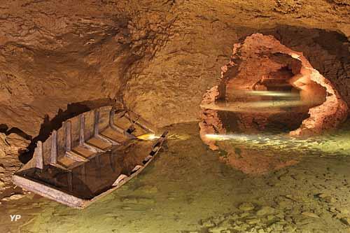 Grottes de La Balme - Lac souterrain