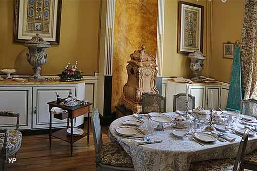 Hôtel abbatial - salle à manger des abbés