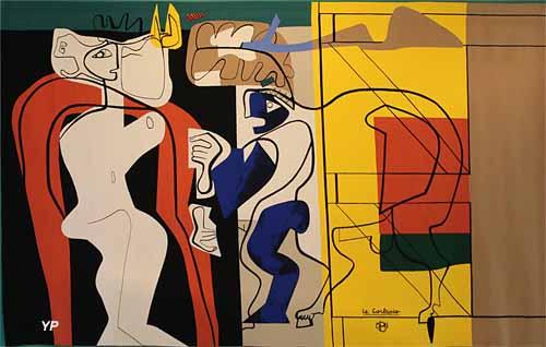 La femme et le maréchal ferrant (Charles-Édouard Jeanneret-Gris, dit Le Corbusier)