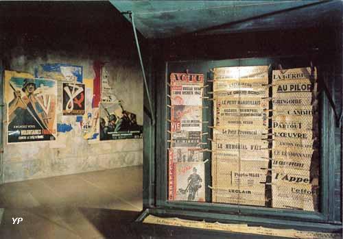 Musée d'Histoire Jean Garcin 39-45 : L'appel de la Liberté - kiosque à journaux
