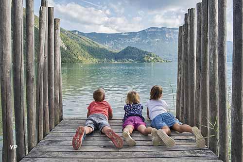 Parcours Spectacle du Lac d'Aiguebelette
