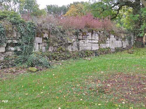 Ruines de l'abbaye royale Notre-Dame d'Abbecourt