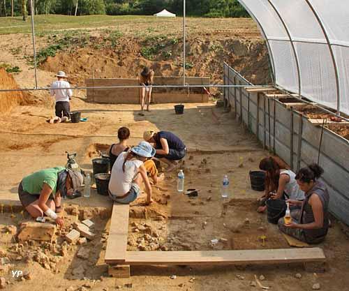 Site archéologique Pincevent