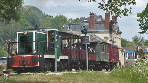 Train Touristique Guîtres-Marcenais