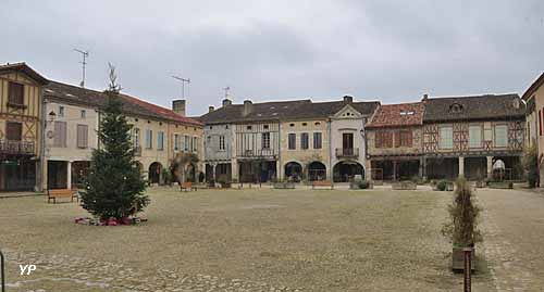 Village Labastide-d'Armagnac
