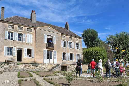 Visite de la Maison de Jacques Copeau